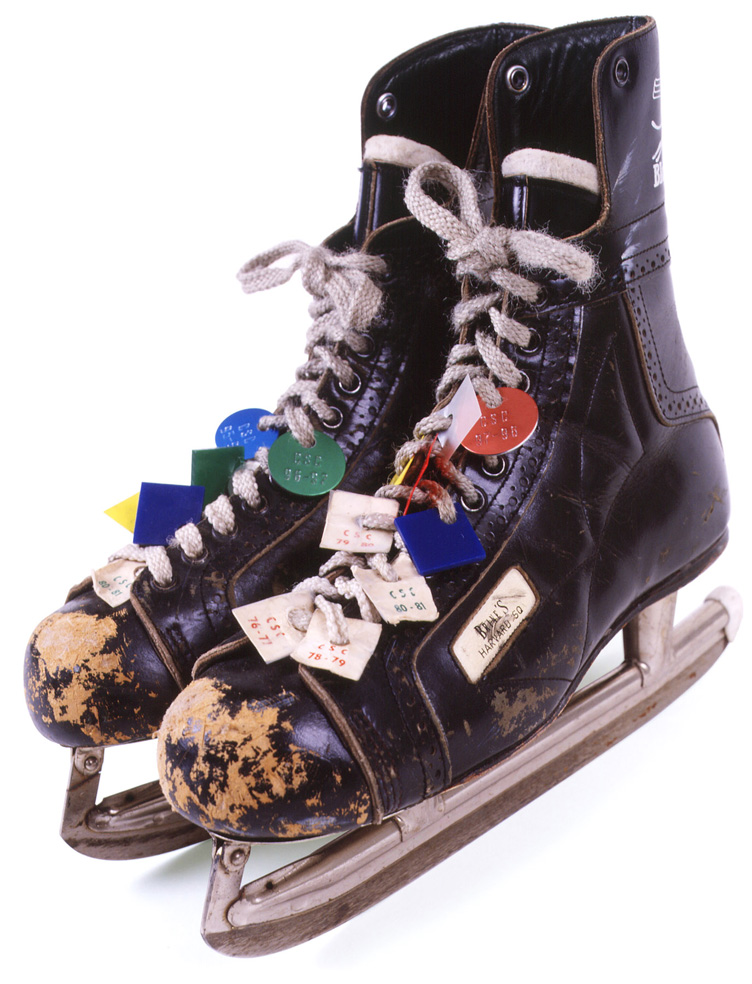 Cambridge Skating Club, pair of old skates